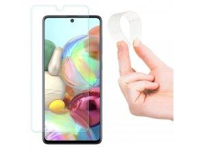 eng pl Nano Flexi Glass Hybrid Screen Protector Tempered Glass for Samsung Galaxy A71 58772 1