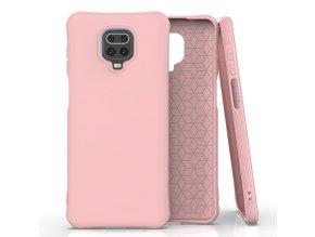 eng pl Soft Color Case flexible gel case for Xiaomi Redmi Note 9 Pro Redmi Note 9S pink 61493 1