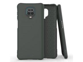 eng pl Soft Color Case flexible gel case for Xiaomi Redmi Note 9 Pro Redmi Note 9S dark green 61492 1