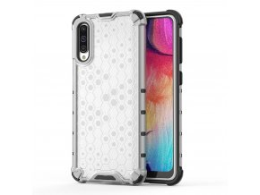 eng pl Honeycomb Case armor cover with TPU Bumper for Samsung Galaxy A50 transparent 53843 1