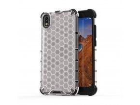 eng pl Honeycomb Case armor cover with TPU Bumper for Xiaomi Redmi 7A transparent 53888 1