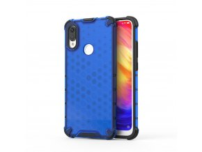 eng pl Honeycomb Case armor cover with TPU Bumper for Xiaomi Redmi Note 7 blue 53890 1