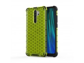 eng pl Honeycomb Case armor cover with TPU Bumper for Xiaomi Redmi Note 8 Pro green 55396 1