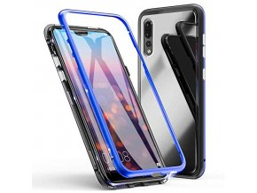 eabuy huawei p20 pro case tempered glass hard back cover magnetic adsorption aluminum alloy bumper n 51Qx gKhW4L
