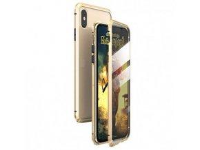 iphone xs magnetic case gold 016llq