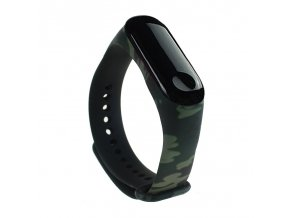 eng pl Replacment band strap for Xiaomi Mi Band 4 Mi Band 3 Camouflage green 54225 1