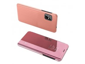 eng pl Clear View Case cover for Samsung Galaxy A71 pink 56579 1