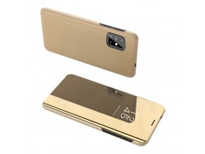 eng pl Clear View Case cover for Samsung Galaxy S20 golden 56596 1