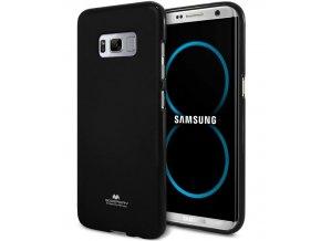 perleťový kryt na Samsung Galaxy S8 černý