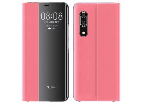 eng pl New Sleep Case Bookcase Type Case with kickstand function for Huawei P30 pink 61161 1