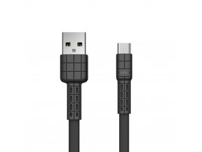 eng pl Remax Armor Series flat USB USB Type C cable 5V 2 4A black RC 116a 49638 1
