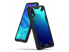 eng pl Ringke Fusion X durable PC Case with TPU Bumper for Huawei P Smart 2019 black FXHW0011 RPKG 48568 1