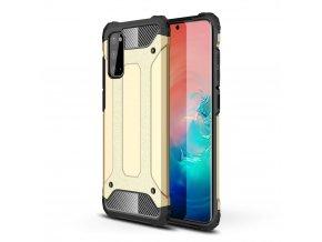 eng pl Hybrid Armor Case Tough Rugged Cover for Samsung Galaxy S20 golden 56271 1