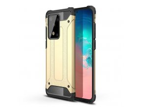 eng pl Hybrid Armor Case Tough Rugged Cover for Samsung Galaxy S20 Plus golden 56263 1