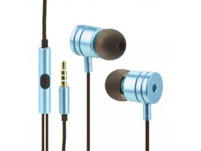Sluchátka stereo metal MI modrédetail