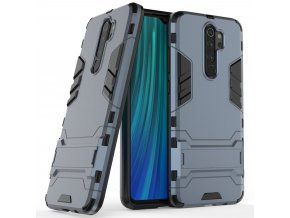 eng pl Stand Armor Case Kickstand Tough Rugged Cover for Xiaomi Redmi Note 8 Pro blue 54550 1