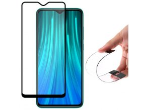eng pl Wozinsky Full Cover Flexi Nano Glass Hybrid Screen Protector with frame for Xiaomi Redmi Note 8 Pro black 54844 1