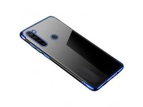 eng pl Clear Color Case Gel TPU Electroplating frame Cover for Motorola G8 Plus blue 59871 17