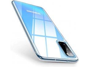 eng pl Ultra Clear 0 5mm Case Gel TPU Cover for Samsung Galaxy S20 Plus transparent 56415 8