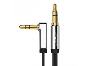 eng pl Ugreen AUX 3 5 mm mini jack flat cable 1m silver 10597 57411 1