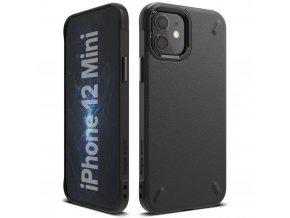 eng pl Ringke Onyx Durable TPU Case Cover for iPhone 12 mini black OXAP0021 63902 1