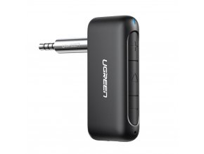 eng pl Ugreen Bluetooth audio receiver AUX mini jack for the car black 70303 60911 11