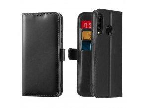 eng pl Dux Ducis Kado Bookcase wallet type case for Huawei P30 Lite black 53383 1