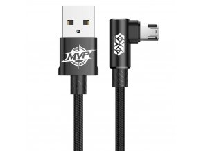 eng pl Baseus MVP Double sided Elbow Type Cable micro USB 1 5A 2M Black CAMMVP B01 41697 1
