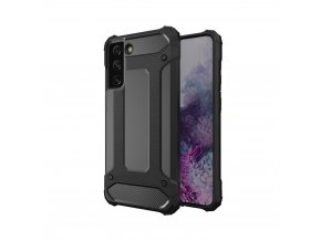 eng pl Hybrid Armor Case Tough Rugged Cover for Samsung Galaxy S21 Ultra 5G black 65509 8