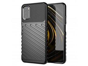 eng pl Thunder Case Flexible Tough Rugged Cover TPU Case for Xiaomi Poco M3 Xiaomi Redmi 9T black 67165 11