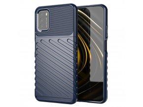 eng pl Thunder Case Flexible Tough Rugged Cover TPU Case for Xiaomi Poco M3 Xiaomi Redmi 9T blue 67166 7