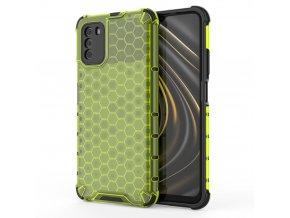 eng pl Honeycomb Case armor cover with TPU Bumper for Xiaomi Poco M3 Xiaomi Redmi 9T green 67275 1