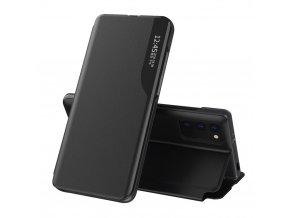 pol pl Eco Leather View Case elegancki futeral etui z klapka i funkcja podstawki Xiaomi Poco M3 Xiaomi Redmi 9T czarny 66933 1