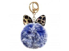 eng pl Fluffy ball pendant blue 72141 1