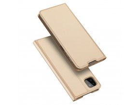 eng pl Dux Ducis Skin Pro Bookcase type case for Samsung Galaxy A22 5G golden 72331 1