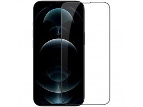 eng pl Nillkin CP PRO Ultra Thin Full Coverage Tempered Glass with Frame 0 2 mm 9H for iPhone 13 mini black 75210 1