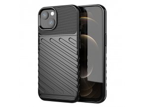 eng pl Thunder Case Flexible Tough Rugged Cover TPU Case for iPhone 13 black 74327 1