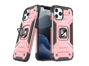 eng pl Wozinsky Ring Armor Case Kickstand Tough Rugged Cover for iPhone 13 Pro Max rose gold 73340 1