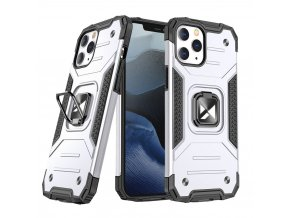 eng pl Wozinsky Ring Armor Case Kickstand Tough Rugged Cover for iPhone 12 Pro iPhone 12 silver 66263 1