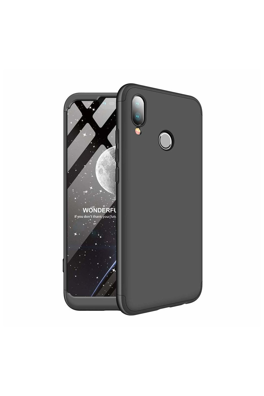 eng pl 360 Protection Front and Back Case Full Body Cover Huawei Nova 3 black 45185 1