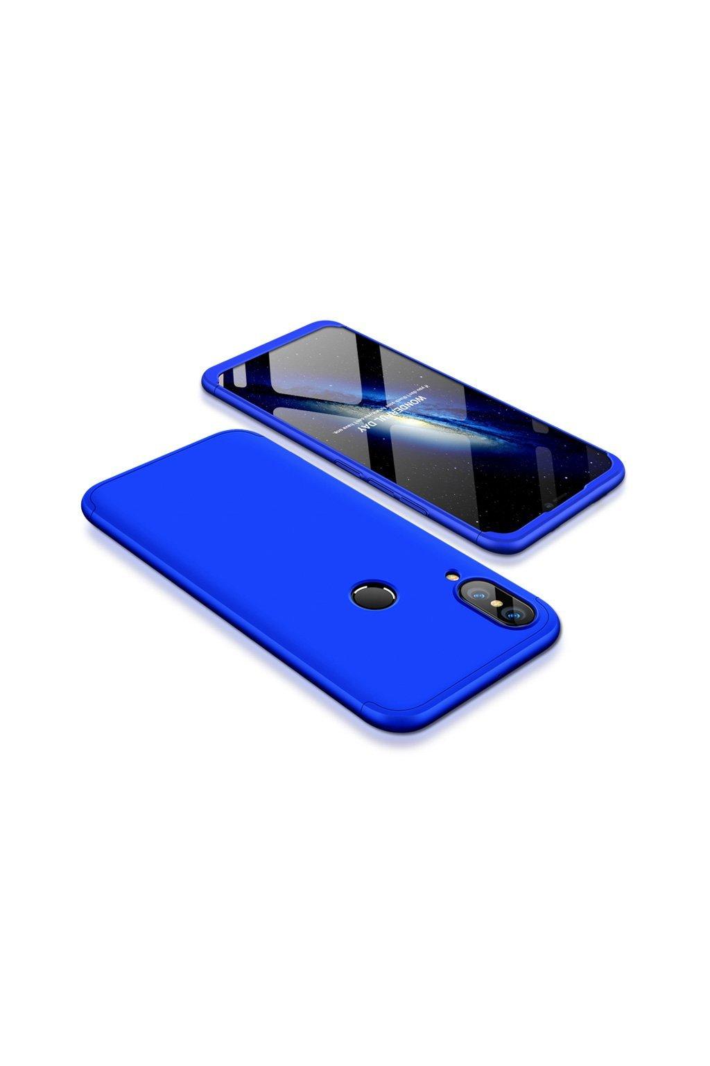 360 osbousranný kryt na huawei p20 lite modrý