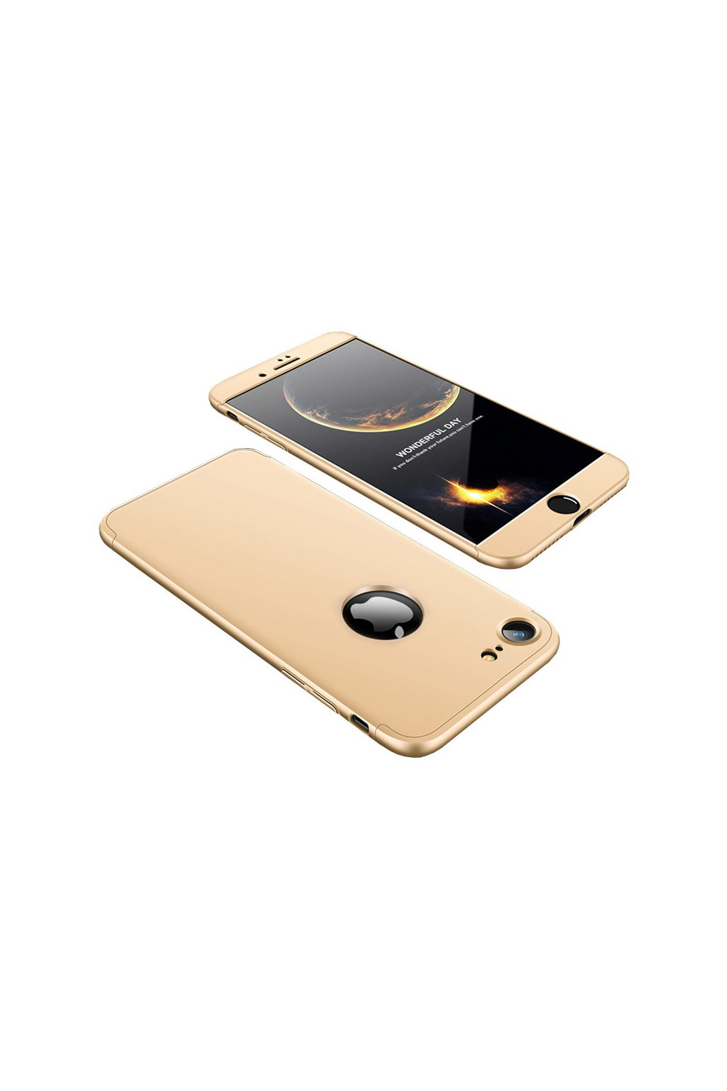 eng pl 360 Protection Front and Back Case Full Body Cover iPhone 8 gold 35303 7