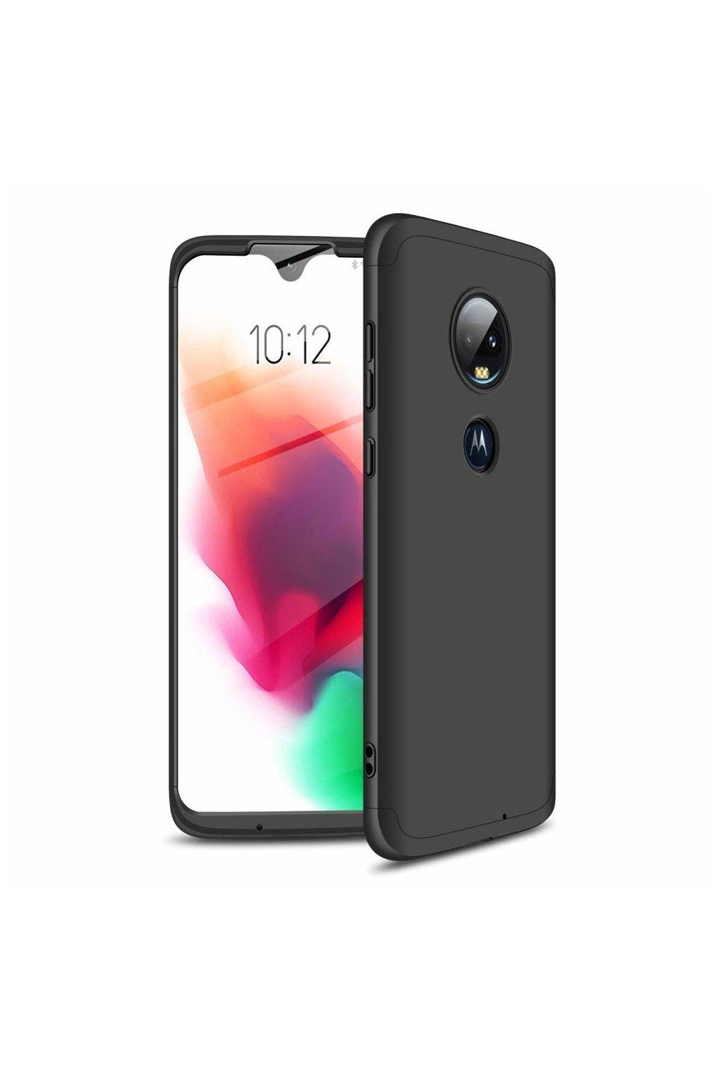 eng pl GKK 360 Protection Case Front and Back Case Full Body Cover Motorola Moto G7 black 46546 1