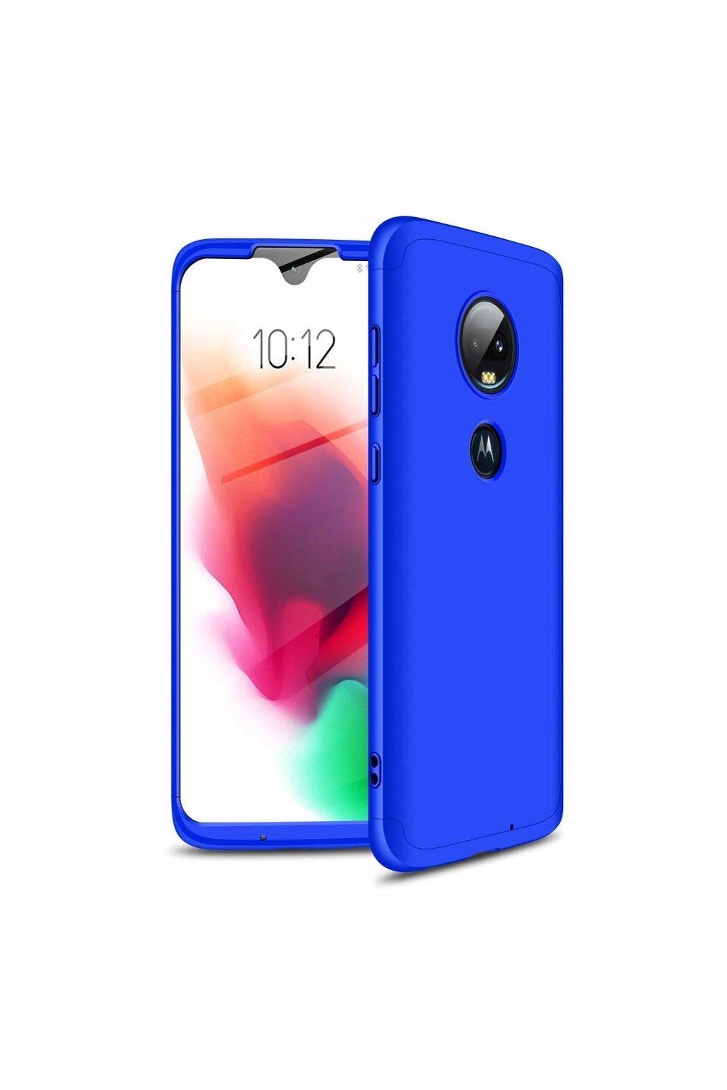 eng pl GKK 360 Protection Case Front and Back Case Full Body Cover Motorola Moto G7 blue 46549 1