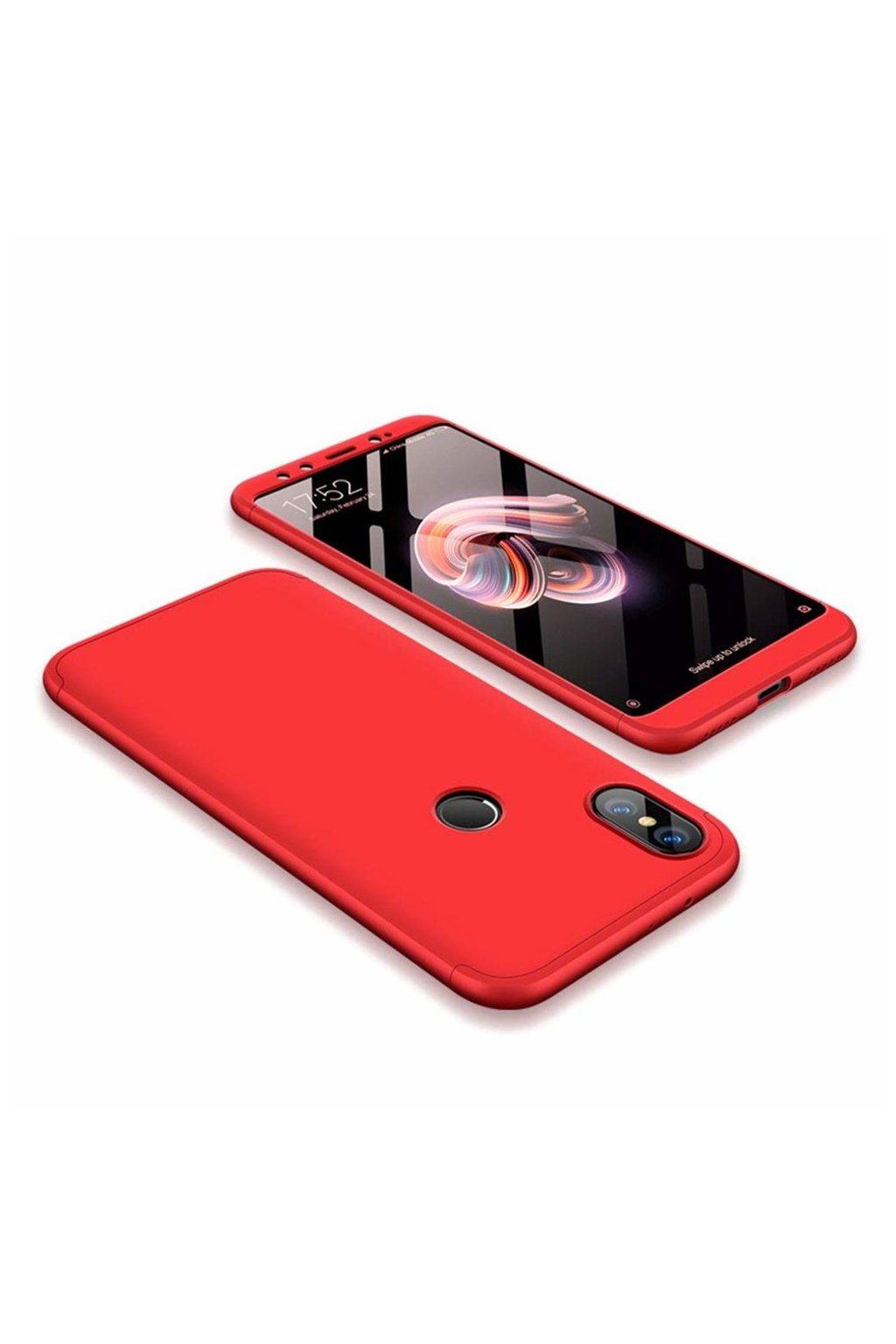 eng pl 360 Protection Front and Back Case Full Body Cover Xiaomi Mi A2 Mi 6X red 45189 1
