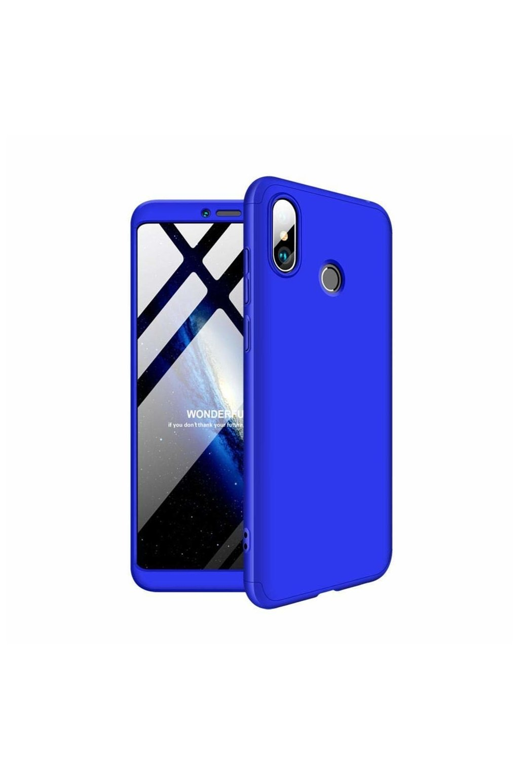 eng pl 360 Protection Front and Back Case Full Body Cover Xiaomi Mi Max 3 blue 45199 1