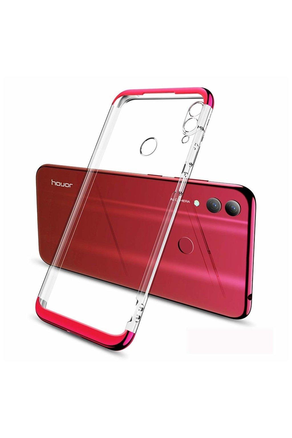 eng pl GKK 360 Phantom Case Front and Back transparent Case Full Body Cover Huawei P Smart 2019 red 49746 1