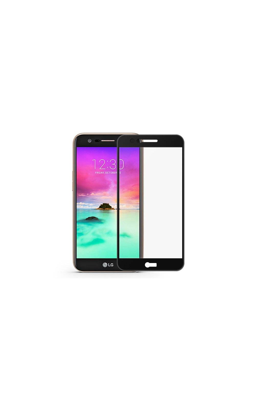 1PCS Tempered Glass For LG K10 2017 Screen Protector for LG LV5 M250N Full Cover for.jpg 640x640