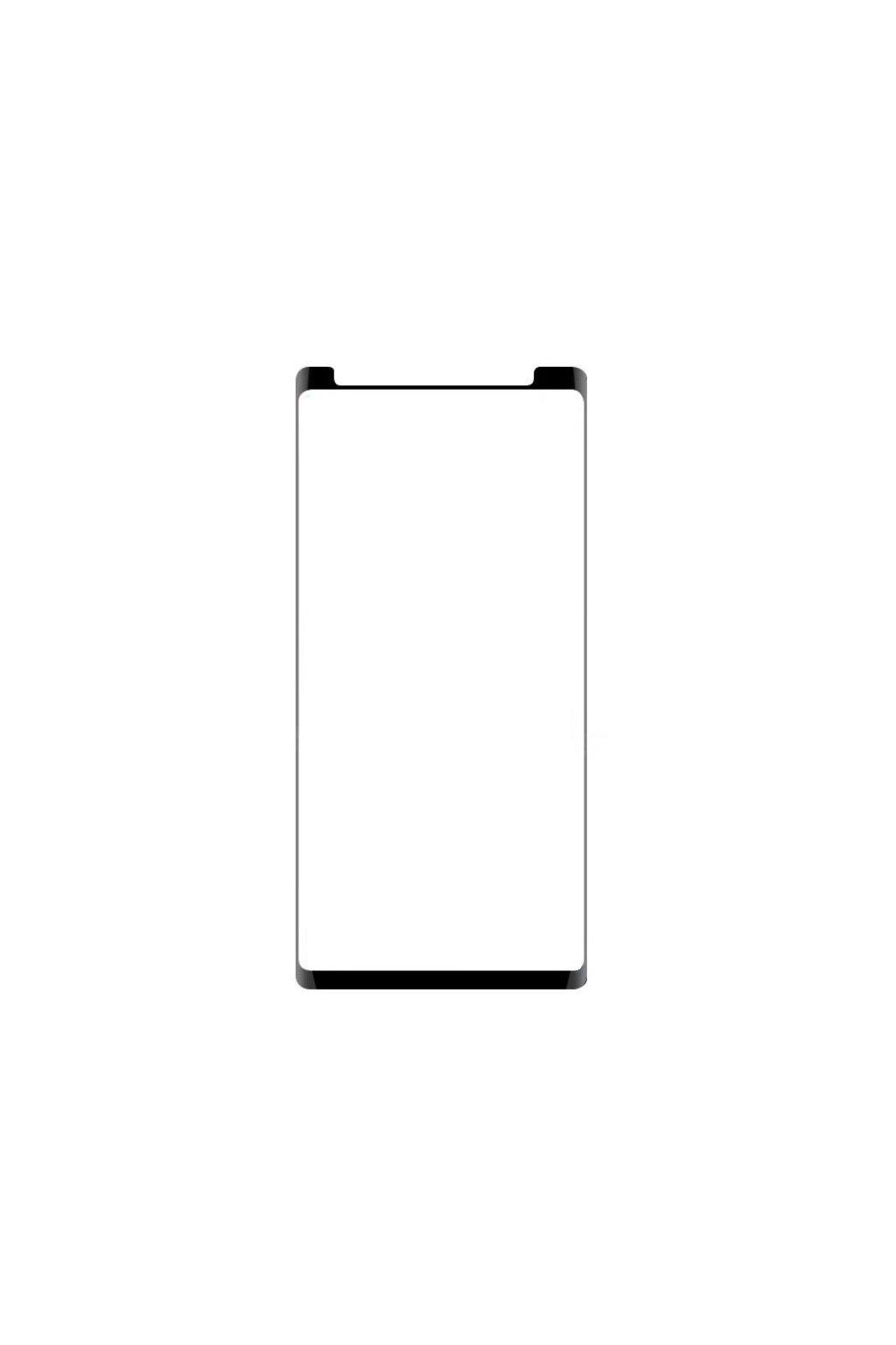 3D Tvrzené sklo na Samsung Galaxy Note 9 kompatibilní s krytem 3