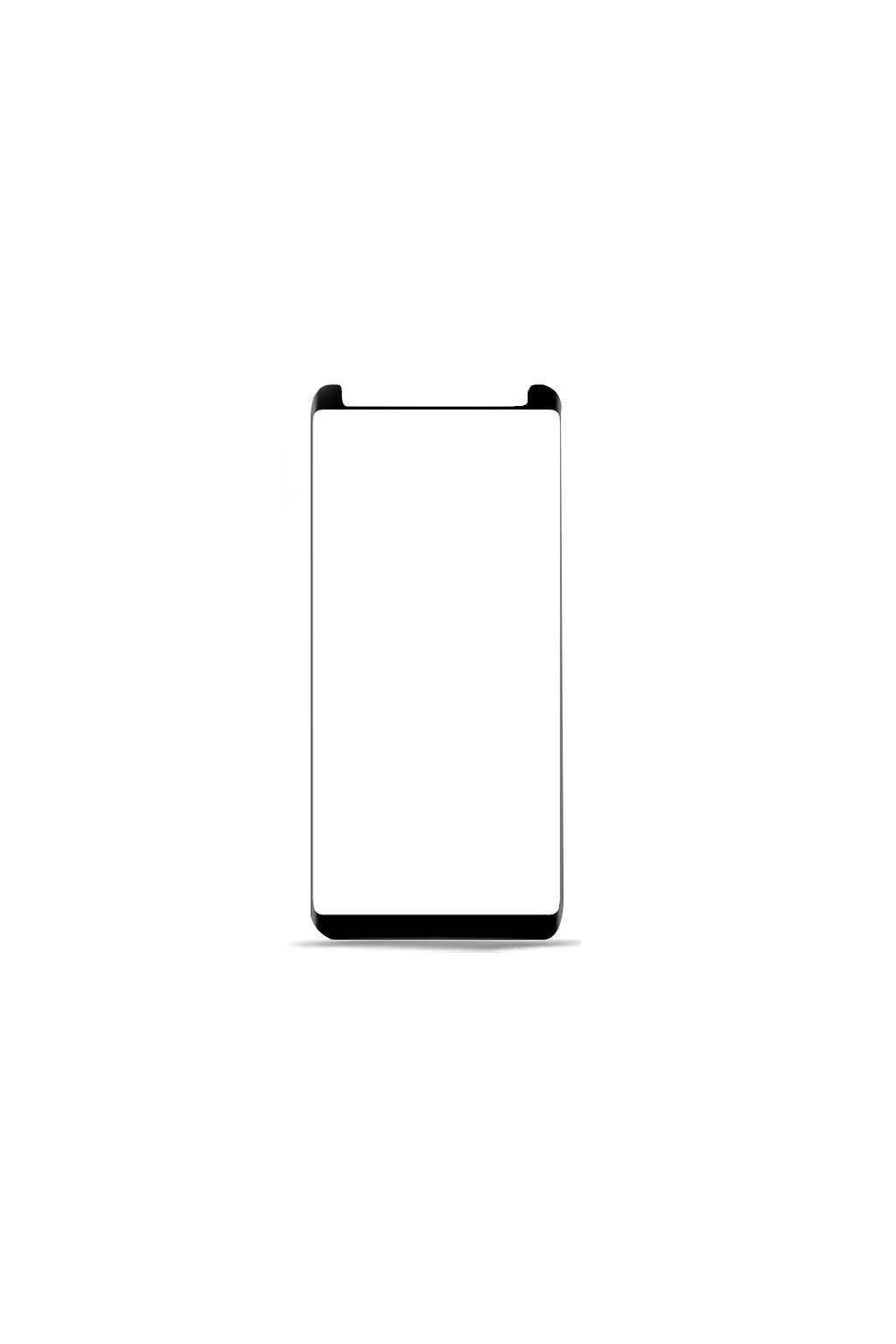 xinwen front film 9H 3d curved screen protector tempered glass for samsung galaxy s9 s8 plus
